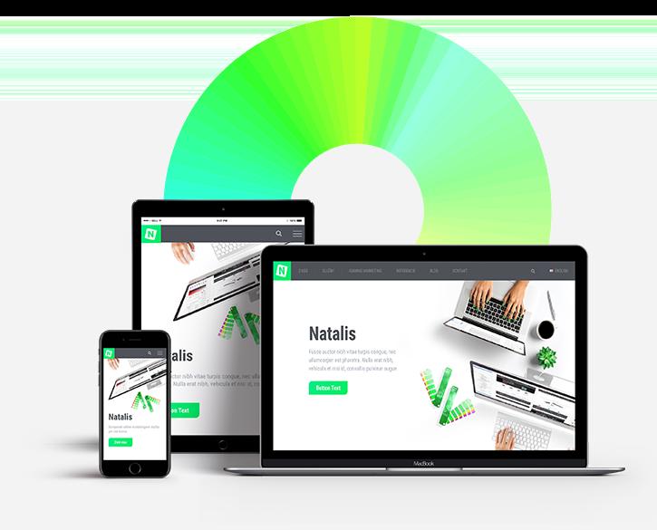 Website creation, webdesign